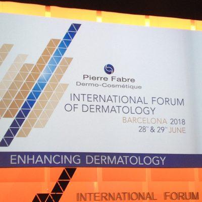 Miedzynarodowe Forum Dermatologiczne Barcelona 2018 Dermatologia